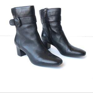 Bandolino Demelza Leather Mid-Calf Boots